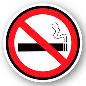 """Durastripe 20"""" Round Sign - No Smoking - No Text"""