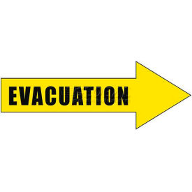 Durastripe 12X4 Arrow Sign - Evacuation
