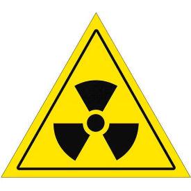 "Durastripe 16"" Triangular Sign - Caution Nuclear"