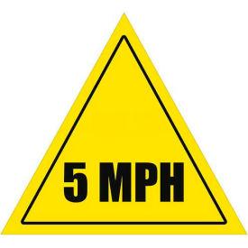 """Durastripe 16"""" Triangular Sign - Caution 5 Mph"""