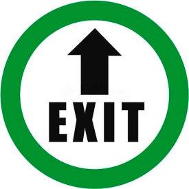 """Durastripe 16"""" Round Sign - Exit"""