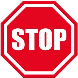 """Durastripe 20"""" Octagone Sign - Stop"""