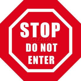 "Durastripe 20"" Octagone Sign - Stop Do Not Enter"