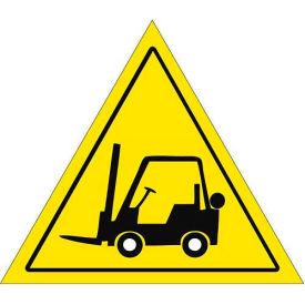"""Durastripe 20"""" Triangular Sign - Forklift Caution No Text"""