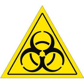 """Durastripe 20"""" Triangular Sign - Caution Biohazard"""