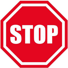 """Durastripe 24"""" Octagone Sign - Stop"""