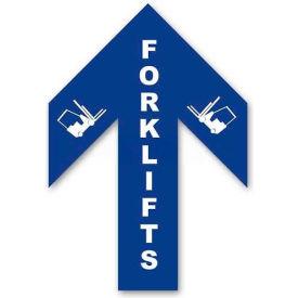 Durastripe 34X26 Arrow Sign - Forklifts