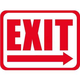 "Durastripe 24""X18"" Rectangle - Exit"