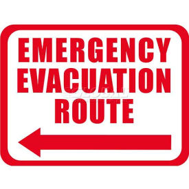"Durastripe 30""X21"" Rectangle - Emergency Evacuation Route"