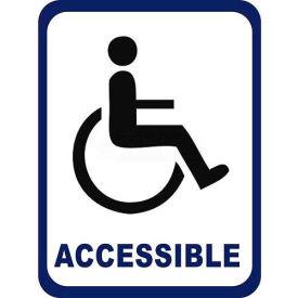 "Durastripe 36""X27"" Rectangle - Wheelchair Accessible"