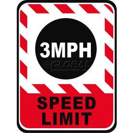 "Durastripe 50""X32"" Rectangle - 3 Mph Speed Limit"
