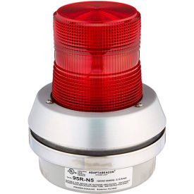 Edwards Signaling 95R-N5 Xenon Strobe With Horn Red 120V AC
