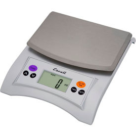 695a09c6dd2e Escali A115S Aqua Digital Scale with Removable Top, 11lb x 0.1oz ...