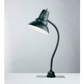 "Electrix 7303 Incandescent Gooseneck Work Lamp W/Magnetic Base, 22"" Reach, 100W"