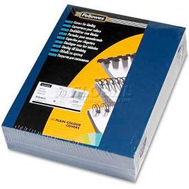 Fellowes®  Linen Presentation Covers - Letter, Navy, 200 pack - Pkg Qty 2