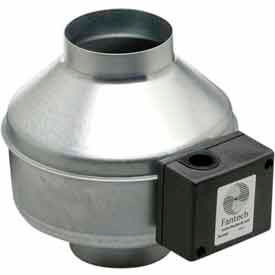 """5"""" In-Line Duct Fan With Metal Housing 156 CFM"""