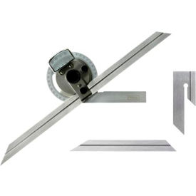 """Fowler 52-440-612 Bevel Protractor with 6"""" and 12"""" Blades"""