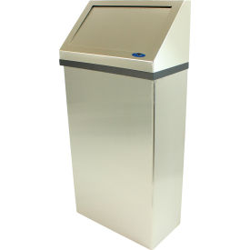Frost Wall Mounted Stainless Steel Waste Receptacle, 11 Gallon, 303-3NL