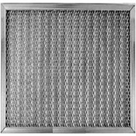 Filtre en maille 0506-16251 Filtration Manufacturing, acier galvanisé, poids moyen, 16 po L x 25 po H x 1 po D, qté par paquet : 2