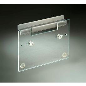 FTR Enterprises Slat Wall Mounting Bracket Adjustable For Small, Medium, or Large Dispensing Bins