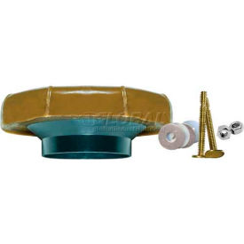 Fluidmaster 7511 Wax Toilet Bowl Gasket W/Flange & Bolts