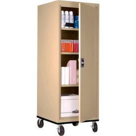 Sandusky Mobile Storage Cabinet TA3R242460- 24x24x66, Sand- Pkg Qty 1