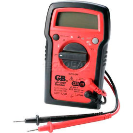 Gardner Bender Auto Ranging Digital Multimeter, 7 Functions