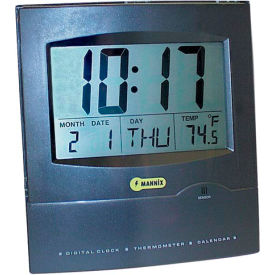 Jumbo Display Wall Clock w Calendar