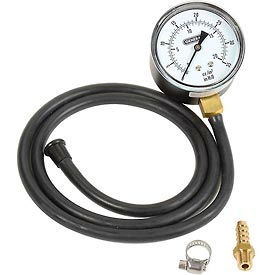 General Tools GPK035 Analog Gas Pressure Kit, 0 To 35 Inches Wc W/ Tubing Fitting & Blow Mold Case