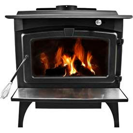Pleasant Hearth 1 800 Sq Ft Wood Burning Stove Heater With
