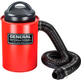 General International 13 Gallon Portable Steel Dust Collector - BT8008