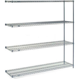 "Nexelon Wire Shelving Add-On 72""W X 24""D X 74""H"