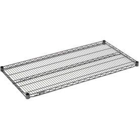 """Nexel S1442N Nexelon Wire Shelf 42""""W x 14""""D with Clips"""