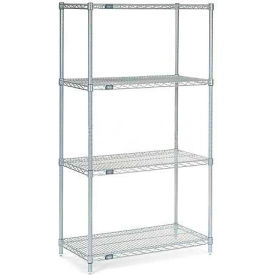 "Nexelate Wire Shelving, 30""W X 24""D X 63""H"
