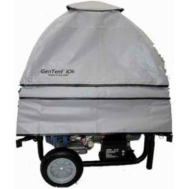 GenTent Running Cover, Universal Kit, Extreme Edition, 3000W up to 10000W Portable Generators, Grey