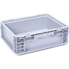 """Georg UTZ Small Load Container (SLC) 50-1512-50-0 - 15""""L x 12""""W x 5""""H, Silver Grey"""
