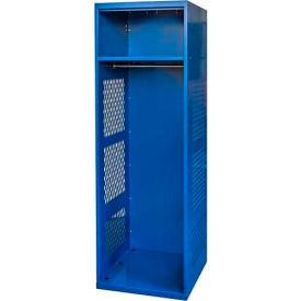 """Hallowell KSNN422-1A-C-GS Gear Locker, 24""""W x 22""""D x 72""""H, w/Top Shelf, Grand Slam, Assembled"""