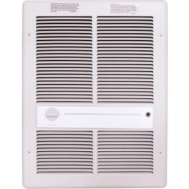 TPI Fan Forced Wall Heater G3314T2RPW - 2000W 277V White