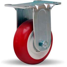 Hamilton® General Utility Rigid 3-1/2 x 1-3/8 Poly-Tech Ball 325 Lb. Caster
