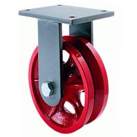 Hamilton® Standard Cold Forged Rigid 5 x 2 V-Grooved Roller 800 Lb. Caster