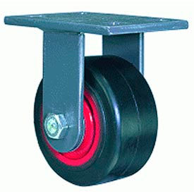 Hamilton® Extended Service Forged Rigid 6 x 2-1/2 Forged Roller 2400 Lb. Caster