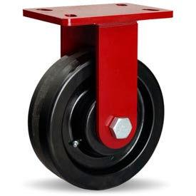 Hamilton® ForgeMaster™ Rigid 8 x 2-1/2 Plastex Roller 2000 Lb. Caster