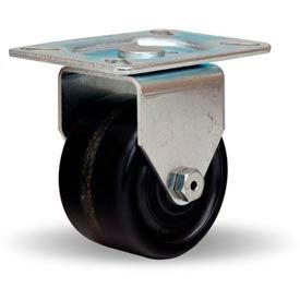 Hamilton® Hi-Lo Light Duty Rigid 3 x 1-3/4 Plastex Roller 400 Lb. Caster