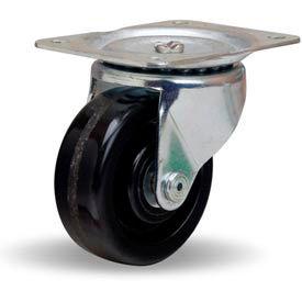 Hamilton® Leader Light Duty Swivel 4 x 1-1/2 Plastex Roller 375 Lb. Caster