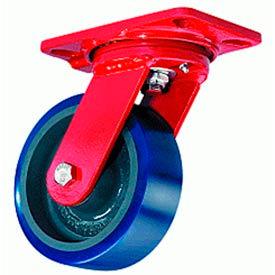 Hamilton® Extra Heavy Service Swivel 6 x 2 Poly-Soft™ Tapered 960 Lb. Caster