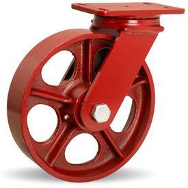 Hamilton® ForgeMaster™ Swivel 10 x 2-1/2 Metal Roller 2200 Lb. Caster