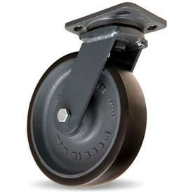 Hamilton® Workhorse Forged Swivel 8 x 2 Duralast™ XC Ball 1950 Lb. Caster