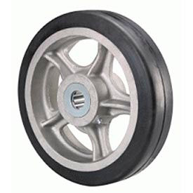 "Hamilton® Rubber On Aluminum 9 x 2 - 3/4"" Roller Bearing"
