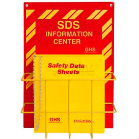"Horizon Mfg. English SDS Binder and Safety Station, 3024, 3""W"