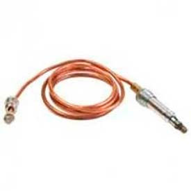 """Honeywell 30 Mv Thermocouple W/ 11/32 32 Male Connector Nut Connection 36"""" Leads Q340A1090"""
